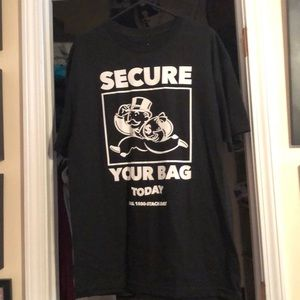 Secure your bag tee